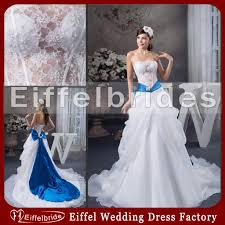 royal blue and white wedding dresses cocktail dresses 2016