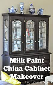 Curio Cabinet Makeover by The 25 Best China Cabinet Makeovers Ideas On Pinterest Painted