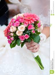 wedding flowers images free wedding bouquet with pink flowers royalty free stock photography