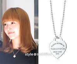 heart charm necklace tiffany images Soshified styling jessica tiffany co jpg