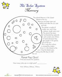 get outta here 12 worksheets about outer space education com