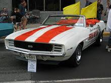 69 camaro pace car chevrolet camaro generation
