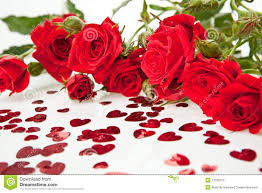 roses and hearts roses and hearts stock photos image 12189773