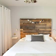 Build A Platform Bed Using Pallets by 40 Recycled Diy Pallet Headboard Ideas 99 Pallets