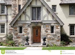 English Tudor Style House Tudor House Facade Stock Photos Royalty Free Pictures