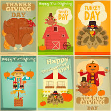 thanksgiving posters set