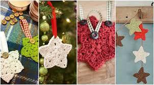 bufandas mis tejidos tejer en navidad manualidades navidenas bufanda estrellas a crochet para el árbol de navidad manualidades