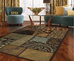 flooring inspiring living room decor with floral lowes rugs on