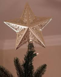 How To Make A Christmas Tree Star For Top - how to choose the right christmas tree topper balsam hill