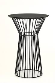 round bar table and stools graph modern black round bar table