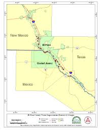 Nmsu Map Paso Del Norte Watershed Council Coordinated Database And Gis