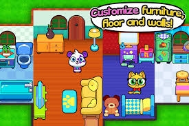 Forest Folks Cute Pet Home Design Game Android Apps On Google Play - Home designing games
