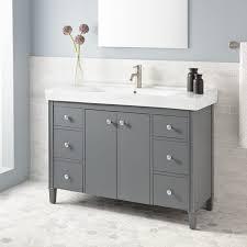 bathroom vanities awesome bathroom hemnes vanity in grey with