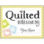 personalized quilt labels