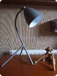 Light Table Desk Retro Atomic Orange Desk Lamp Retro Office By Antiquemporiums