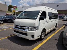 toyota hiace vip our fleet mexico city private tour transport stylewalk mx