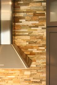 Stone Veneer Kitchen Backsplash Reflections On A Designer U0027s Kitchen Mini Remodel