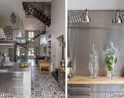 cuisine ikea inox sol en carreaux de ciment boutique scherer à bordeaux meubles de
