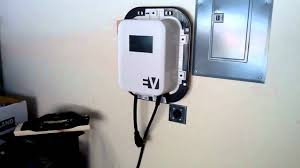 nissan leaf charging points electric car charger home installation youtube