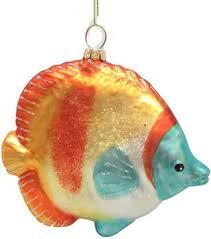 tropical fish ornaments rainforest islands ferry