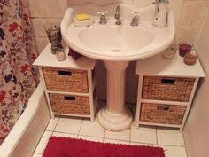 Bathroom Storage Cheap by Organize The Space Under The Bathroom Sink Small Bathroom