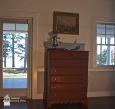 primer red chalk paint a federal style maine country home