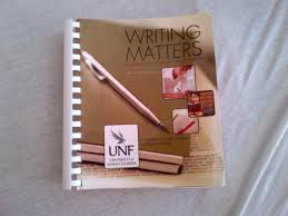 writing matters a handbook for writing and research for unf