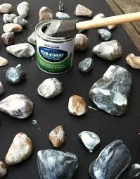 glow in the dark rocks for the home garden pinterest rock