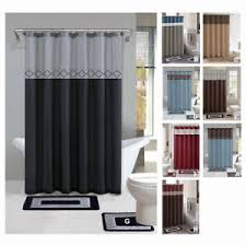 Contemporary Bath Rugs Contemporary Bath Shower Curtain 15 Pcs Modern Bathroom Rug Mat