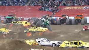 monster trucks crashes videos image gallery of monster trucks crashes youtube