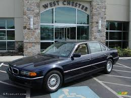 bmw orient blue metallic 1999 orient blue metallic bmw 7 series 740il sedan 10505222