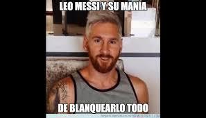 Memes De Lionel Messi - lionel messi cambi祿 de look y los memes no lo perdonaron foto 1