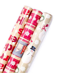 sided wrapping paper hallmark christmas reversible wrapping paper merry