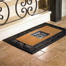 Exterior Door Mat Front Door Mats Restoration Hardware With Front Door Mats And