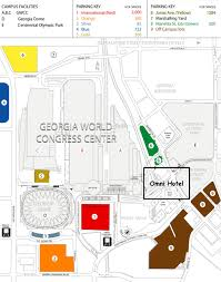 Atlanta Ga Airport Map by Georgia Dome Atlanta Ga Seating Chart View