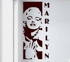 28 marilyn monroe white dress wall decal famous faces marilyn monroe white dress wall decal marilyn monroe wall decal removable sticker