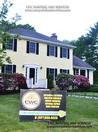 exterior painting andover ma cwc painting and services