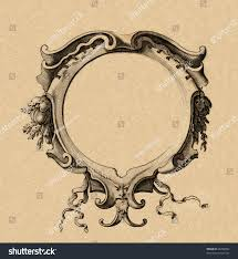 Ancient Map Cartouche Ancient Map Stock Photo 35202862 Shutterstock