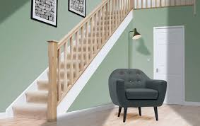 Oak Stair Banister White Oak Stair Parts Ideal For Staining And Polishing