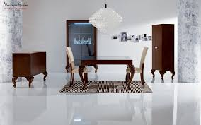 new baroque design dining table wooden glass rectangular