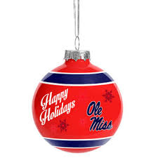 of mississippi décor ole miss rebels ornaments