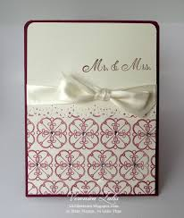 weddings cards so many sts so time clean and simple wedding cards