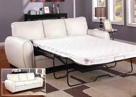 White Leather Sleeper Sofa Leather Sleeper Sofas Sleepersofashop Com