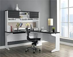 White Office Desk With Hutch Home Office Desk With Hutch Back To L Shaped Desk With Hutch Types