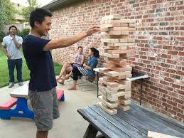 Backyard Jenga Set by How To Build A Diy Giant Jenga Yard Game In Two Hours And Twenty