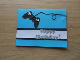 video game birthday card craft projects pinterest cards