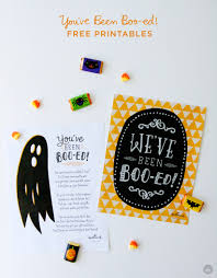 you u0027ve been booed printable think make share
