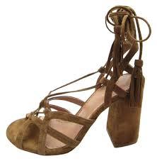 day birger day birger et mikkelsen brown suede strappy sandals size eu 37 5