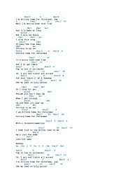 christmas songs chords