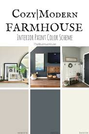 behr paint colors for kitchen with cabinets a cozy modern farmhouse color scheme the blue hue house